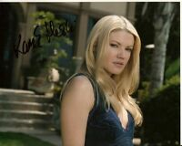 KAM HESKIN hand-signed SEXY BLONDE OUTDOOR CLOSEUP 8x10 authentic w/ UACC RD COA