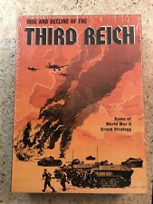 Rise and Decline of the Third Reich AVALON HILL GAME. Sealed. Free Shipping.