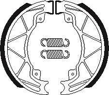 MACHOIRES DE FREIN ARRIERE BENDIX BA205 GILERA 125 RUNNER FX 2T 97-99 BA 205