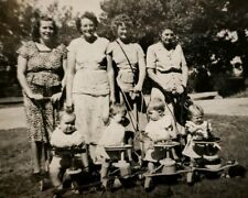 VINTAGE IFFLAND PURDY SNYDER GENEALOGY STROLLER VERNACULAR PHOTOGRAPHY PHOTO IL