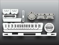 1959 Cadillac Series 62 Dash Instrument Cluster White Face Gauges