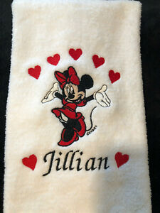 Mickey or Minnie - Monogramed - Personalized - Made To Order