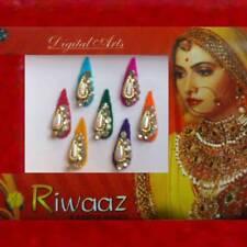 Bindis Indischer Stirnschmuck Bollywood Body Sticker Tikka Anarkali Fasching