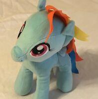"'14 My Little Pony Rainbow Dash 12"" Stuffed Plush Pegasus Horse Blue Toy Cartoon"