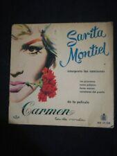"""Sarita Montiel –  """"Carmen La De Ronda""""  7""""  single vinilo ep"""