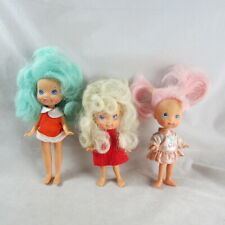 Moon Dreamers Whimzee Bitsy Blinky Dolls Dress Hasbro 1986 Lot of 3 Vintage