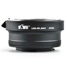 Adaptateur Bague Objectif Nikon F vers Boitier Photo Micro 4/3 Olympus Panasonic