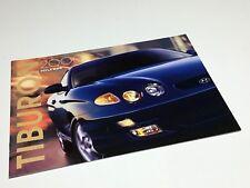 2000 Hyundai Tiburon SE Brochure