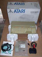 Atari ST computer 520 STE 4mb memory upgrade good DMA Games mouse Joystick BOXED