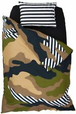 Swenyo - Camouflage Camo Duvet Cover Twin Size 64 X 84 inches New in Package