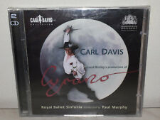 2 CD CARL DAVIS - CYRANO - ROYAL BALLET SINFONIA - PAUL MURPHY - NUOVO NEW