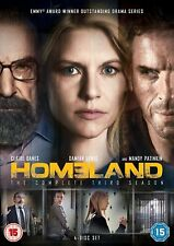 Homeland Season 3 (DVD, 2014) FREE SHIPPING