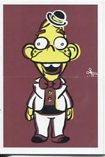 Simpsons Mania Dr. Marvin Monroes Split Personality Chase Card F6