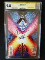 DEATH OF X #4 REGULAR COVER 1ST PRINT CGC SS 9.8 2xSIGN BY LEMIRE & SOULE