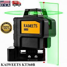 Kaiweets Kt360b 360 Green Light Laser Level Rotary Laser Level Self Leveling