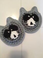 Raccoon Scrubbies - Set Of 2 - Grey