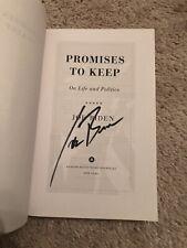 New ListingJoe Biden Autograph Signed Promises To Keep Book Novel President Proof Wow