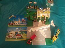 Lego Set Number 6396, International Jetport, Produced in 1990 - Manual 99% comp
