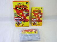 UFO KAMEN YAKISOBAN Item Ref/bcc Super Famicom Nintendo Japan Boxed sf