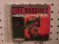 Mechwarrior 2 II Mercenaries PC Activision Mecha Combat Game 1996 CD
