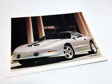 1996 Pontiac SLP Comp T/A Trans Am Information Sheet Brochure