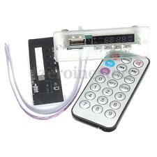 Auto Digital LED 5/12V MP3 Decodificador FM Audio Módulo USB TF FM Radio tarjeta