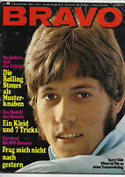 BRAVO Nr.46 vom 11.11.1968 France Gall, Barry Gibb, Aretha Franklin, Karel Gott