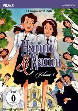 Hanni und Nanni, Vol. 1 - Die ersten 13 Folgen der erfolgreichen Serie nach den Bestsellern von Enid Blyton (Pidax Animation) [2 DVDs] (2017)