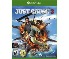 Xbox One 1 Just Cause 3 NEW Sealed Region Free USA