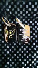 BK Tags 'Angel' Matthew 21:21 keychain