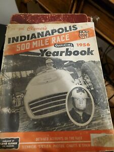 1956 Floyd Clymers Indianapolis 500 Race Yearbook - Complete !