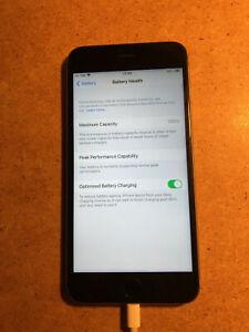 Apple iPhone 6S + Plus - 64GB - Space Grey (Unlocked) Batt 100%