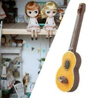 1:12 Dollhouse Miniature Guitar Accessories Instrument House Toys Musical D J9J4