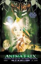 ANIMATRIX Movie POSTER 11x17 B Carrie-Anne Moss Keanu Reeves Dwight Schultz