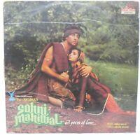 Sohni Mahiwal LP Record Bollywood Annu Malik Hindi 1984 Rare Vinyl Indian VG