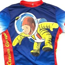 Curious George Space Monkey Youth 12 L Cycling Jersey Large Primal Wear Bike