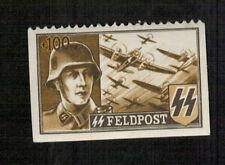 Timbre - SS - Feldpost - Soldat et Avions - + 100 Fr