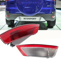For Ford Kuga Escape 2013-2019 Rear Bumper Reflector Tail Fog Light Lamp Cover