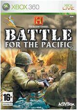 Battle for the Pasific Xbox 360 Video Game Microsoft XBOX360