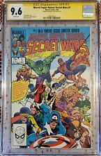 Marvel Super Heroes Secret Wars #1 CGC 9.6 Signs Michael Zack