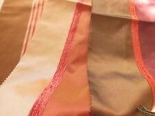 C1 trio petits coupons de tissu rebrodé patchwork 41 cm sur 20,5 cm creation