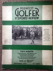 1935 MIDWEST GOLFER & Sports Review / November 1935 BOBBY JONES. Prince of Wales