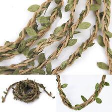 10M Artificial Vine Fake Foliage Leaf Garland Plant Wedding Home Garden Decor