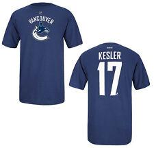 NHL T-Shirt Vancouver Canucks Ryan Kesler 17 Player Name and Number
