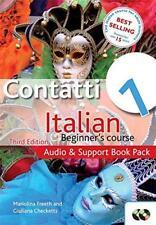 CONTATTI 1: audio y soporte libro Pack: Italiano beginner's CURSO POR MARIOLINA