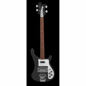 Rickenbacker 4003S Matte Black - 4-Saiter E-Bass inkl. Case