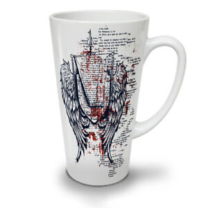 Wings Urban Cool Fashion NEW White Tea Coffee Latte Mug 12 17 oz | Wellcoda