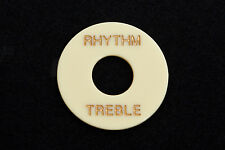 Cream Les Paul pickups selector Switch Rhythm Treble Ring Plate