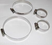 Schlauchschellen Edelstahl V2A Schlauchklemmen 9mm 12mm Bandbreite DIN 3017