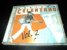 "RARE! CD ""ADRIANO CELENTANO - VOL. 2"" best of 12 morceaux"